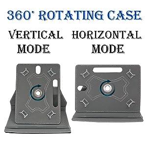 Unique 360 degree rotating feature