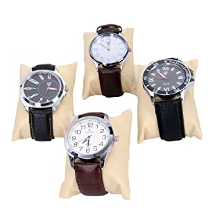 Sample Watches on separate pillow