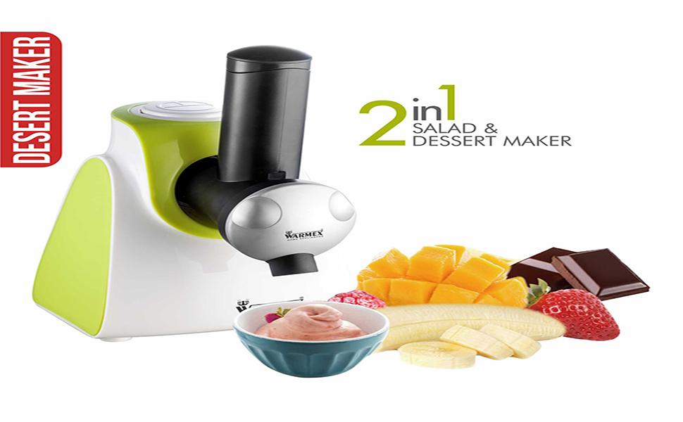 Electric Salad Maker, Electric Dessert maker, Electric Salad & Dessert Maker, Electric SDM 09