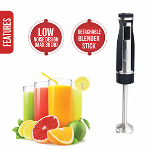Warmex Electric Hand Blender, Electric Hand Blender Vigor Plus, Electric Blender Vigor Plus