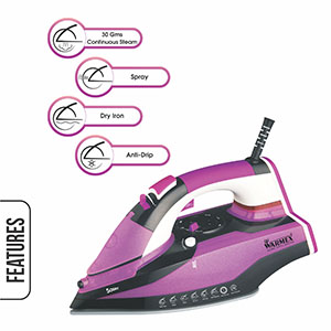 Sassy, Sassy Steam Iron, Warmex Sassy Iron, Sassy Steam & Smart Iron, Warmex Steam & Smart Iron