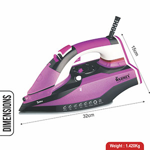 Warmex Sassy Iron, Sassy Steam & Smart Iron, Warmex Steam & Smart Iron, Warmex Electric Steam Iron