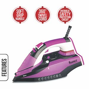Warmex Steam Iron, Warmex Electric Steam Iron, Sassy, Sassy Steam Iron, Warmex Sassy Iron