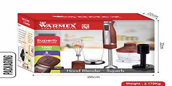 Electric Hand Blender Superb, Warmex Electric Blender, Warmex Electric Blender Superb