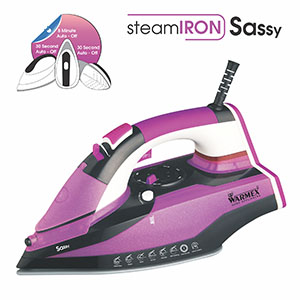 Warmex Steam & Smart Iron, Electric Steam Iron, Electric Sassy Smart Iron,