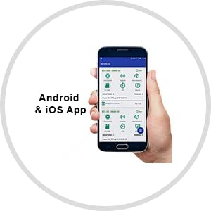 Andriod and iOS Support with biometric attandance