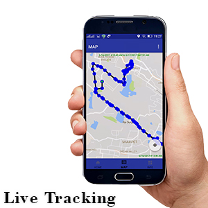 live tracking by mobile app in biometric attandance machine