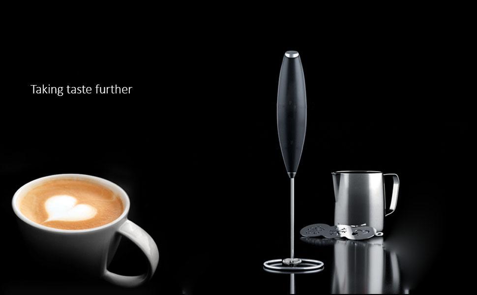 Milk frother Egg beater Hand blender Coffee mixer