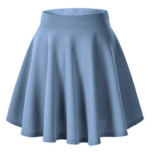 vent flared skirt,soft fabric skirt,stylish short skirt,high waist skirt,mini skirts,