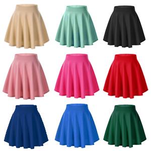 mini skirt colors,flared skirt,high waist mini skirt,high waist short skirt,mini flared skirt colors