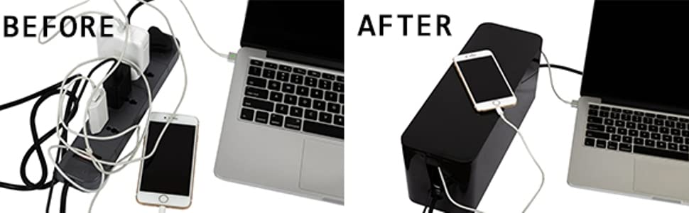 before, after, wire bin, black, iPhone
