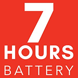 7 Hours Battery