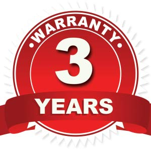 We Have You Covered for 3 Years.