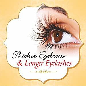 castor oil for thicker eyebrows and longer eyelashes