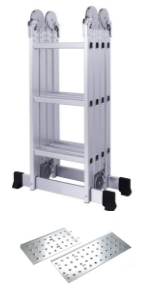 12 feet multipurpose aluminium ladder