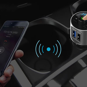 Crust Bluetooth FM Transmitter For Car