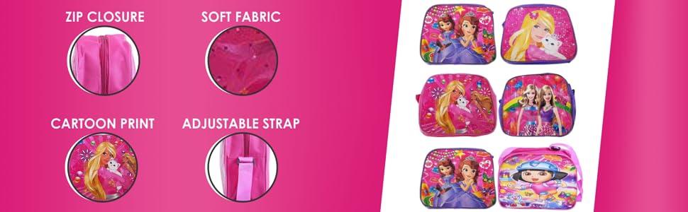 girls sling birthday party return gift set cartoon print durable