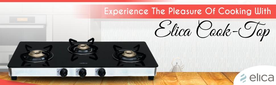 Elica Kitchen Gas Stove