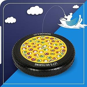 pizza fishing game kids