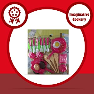 Comdaq Kitchen Set with Pans and Cutlery