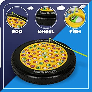 pizza fishing game kids
