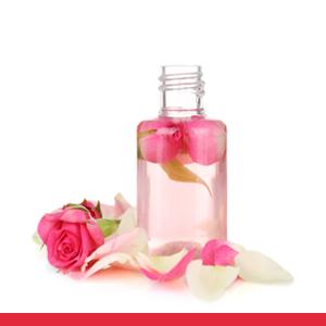 rose and jojoba oil