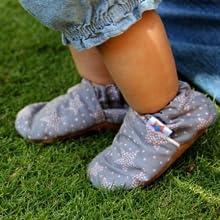 Elastic Fastening comfort baby shoes