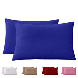 royal blue pillow cover