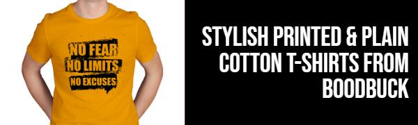 Stylish Pure Cotton T-Shirt For Men