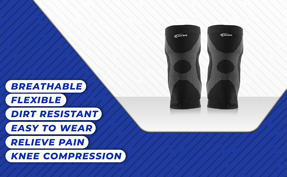 Breathable, Flexible, Dirt Resistant, Easy To Wear, Relieve Pain, Knee Compression