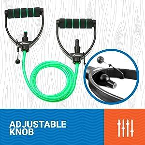 adjustable resistance tube