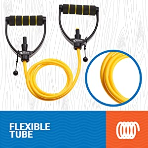 flexible resistance tube