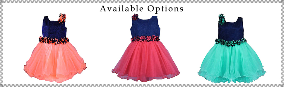 Party wear dress for baby girls
