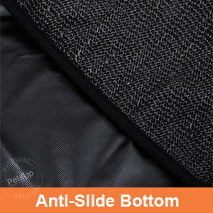anti slide bottom of petsup dog car seat cover