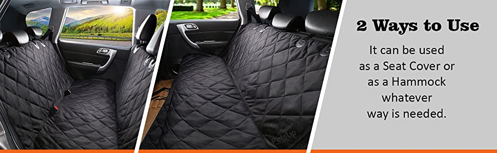 ways to use petsup dog car seat cover