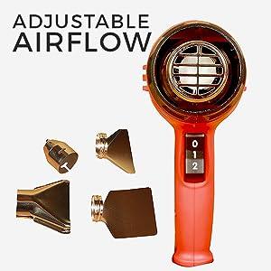 Adjustable Airflow