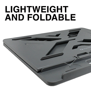 lightweight and foldable design