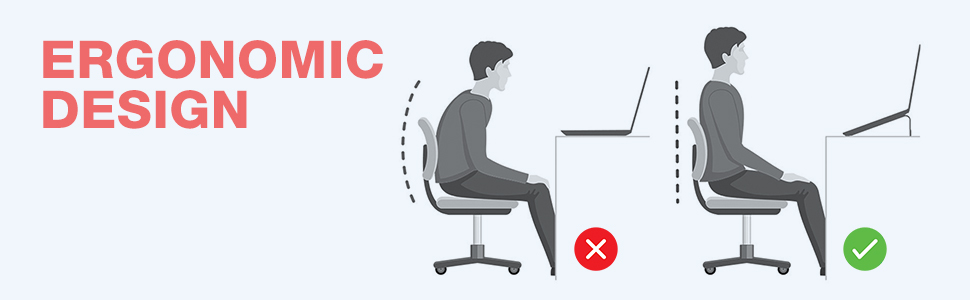 ergonamic laptop stand