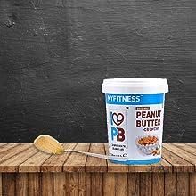 MYFITNESS Original Peanut Butter Crunchy 1250g