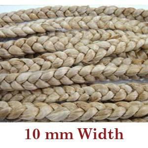 Jute braid construction