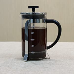 InstaCuppa French Press Coffee Maker with Functional Features