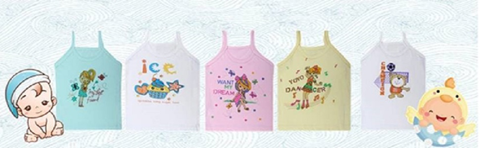 Superminis, Vest, Camisole, Vest For Kids, Camisole For Baby Girls, Summer Vests, Banyan, Inner Wear