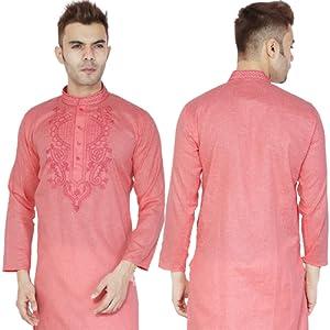 3e8877e047 Indian Handmade Kurta Pajama Traditional Long Sleeve Cotton Kameez ...