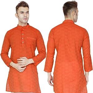 102e8fa7e8 Handmade Indian Kurta Pajama Traditional Long Sleeve Cotton Pyjama ...