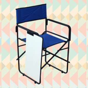 Folding study chair