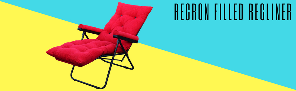 folding recliner easy chair