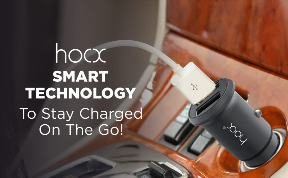 car Charger Mobile Hoox Attach easily