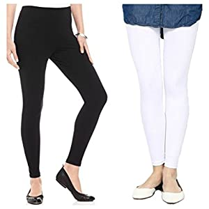 Ankle Length Leggings Cotton Legging Free Size Legging Stretchable Legging