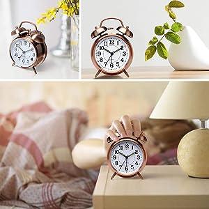 loud alarm clock alarm clock for students heavy sleepers loud alarm loud clock alarm  twin bell