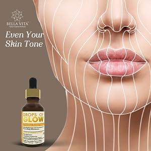 even skin tone bella vita organic bellavita face serum oil drops of glow skin brightening tone